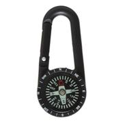 Carabiner Clip with Compass