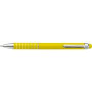 Aluminium Ballpoint Pen with Matching Colour Stylus