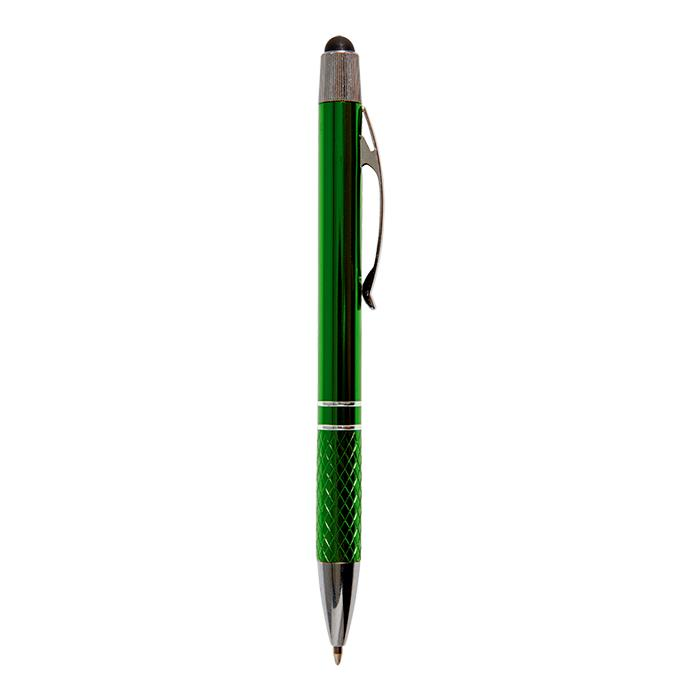 Aluminium Ballpoint Pen With Black Stylus
