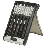 5 Piece Screwdriver Set in Mechanical Case - Smoke