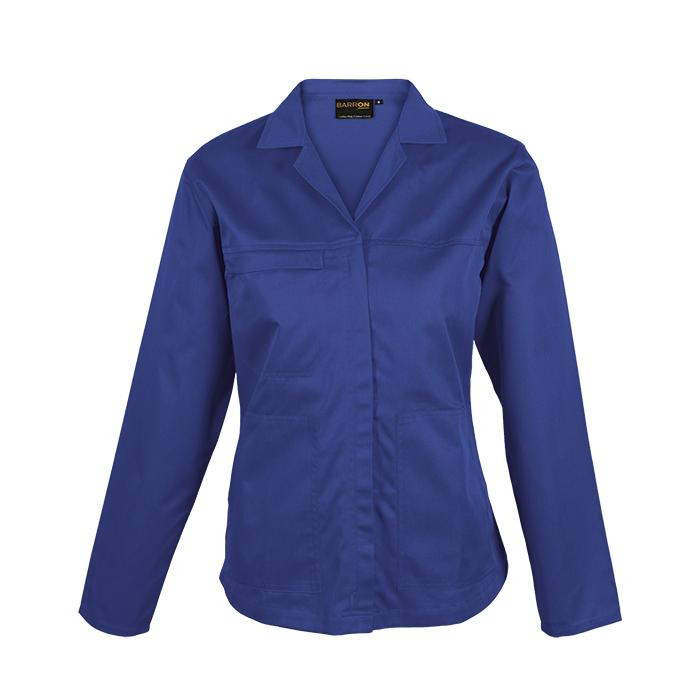 Barron Ladies Poly Cotton Conti Jacket - Available in: Royal