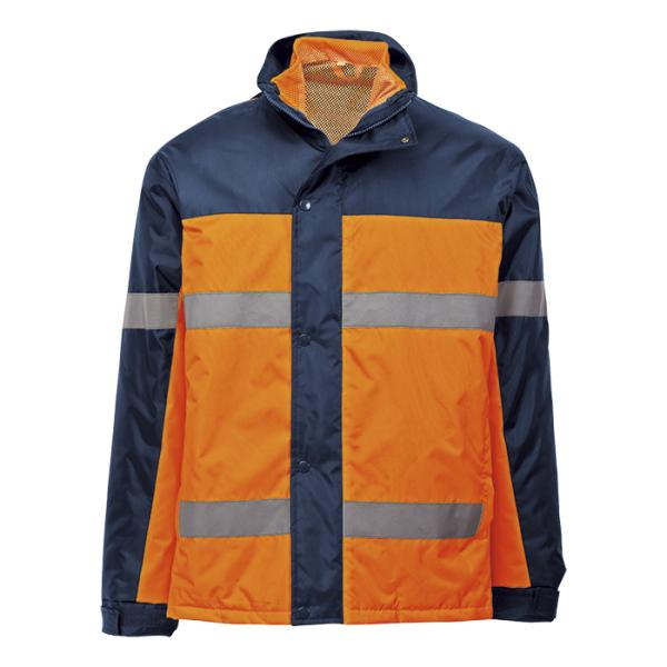 Contractor 3-In-1 Jacket - Available in: Safety Orange/Navy or S