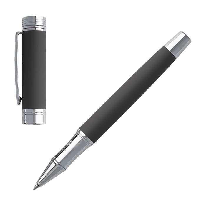 Cerruti Brass Rollerball Pen Zoom Soft - Avail in: Taupe
