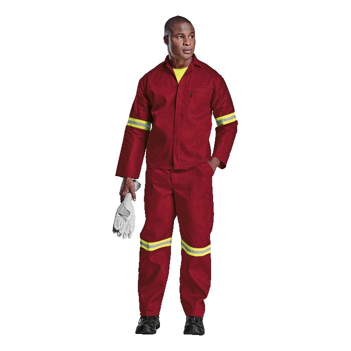 Barron Budget Poly Cotton Conti Suit with Reflective - Available
