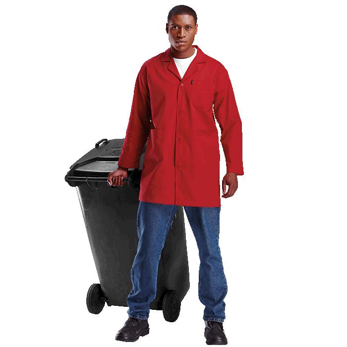 Barron Poly Cotton Dust Coat - Available in: Grey, Navy, Red, Ro