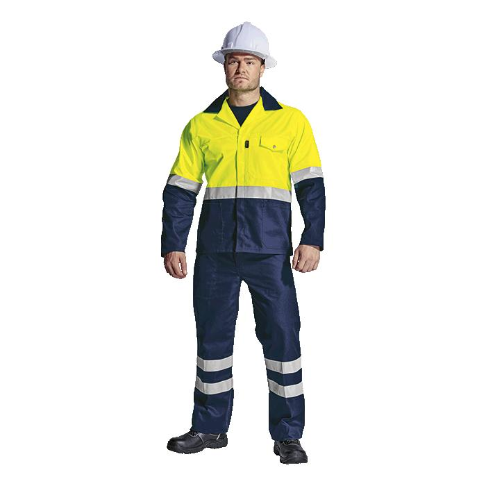 Premier Conti Jacket with Reflective - Available in: Safety Oran