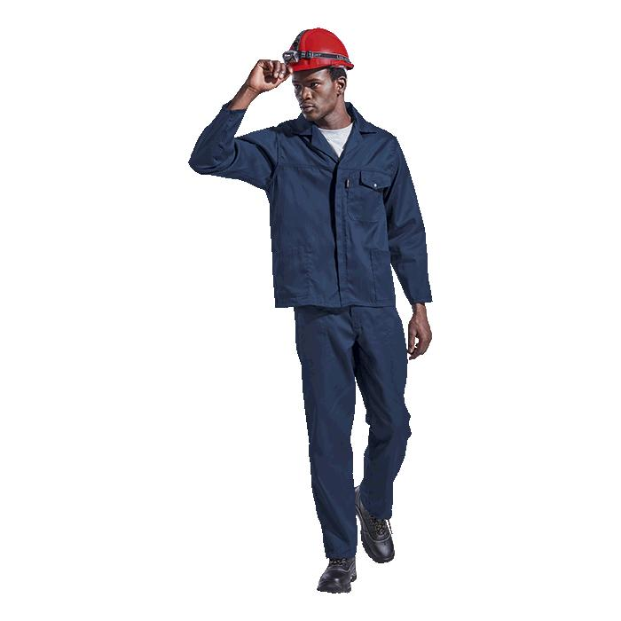 Barron Supreme Poly Cotton Conti Suit - Available in: Navy or Ro