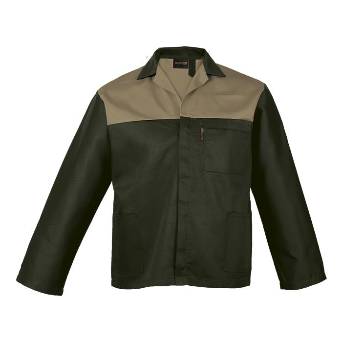 Barron Budget Two Tone Conti Jacket - Available in: Grey/Black,