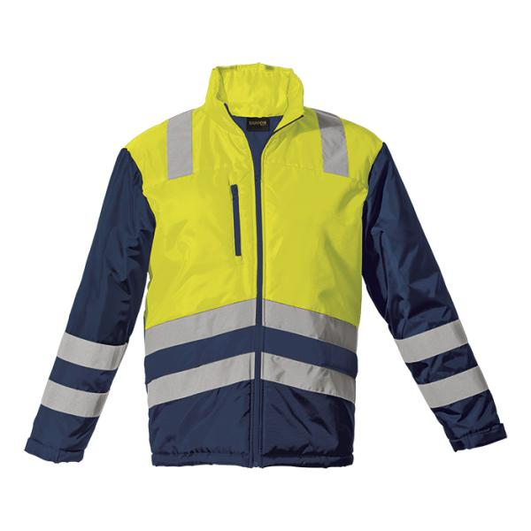 Fleet Jacket - Available in: Safety Orange/Navy or Safety Yellow