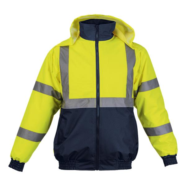 Hawk Jacket - Available in: Safety Orange/Navy or Safety Yellow/