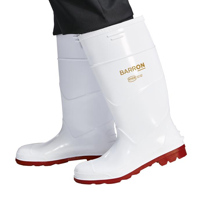 Barron Ikemba Gumboot - Available in: White/Red