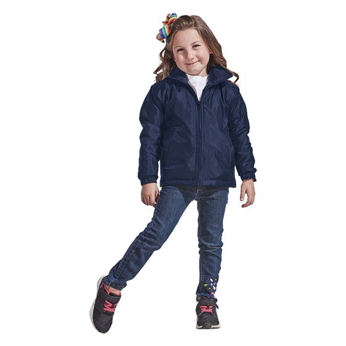 Kiddies Max Jacket - Avail in: Black or Navy