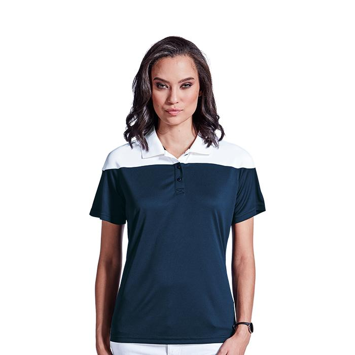 Ladies Omega Golfer. Atlantic Blue/Navy, Navy/White or Red/Black