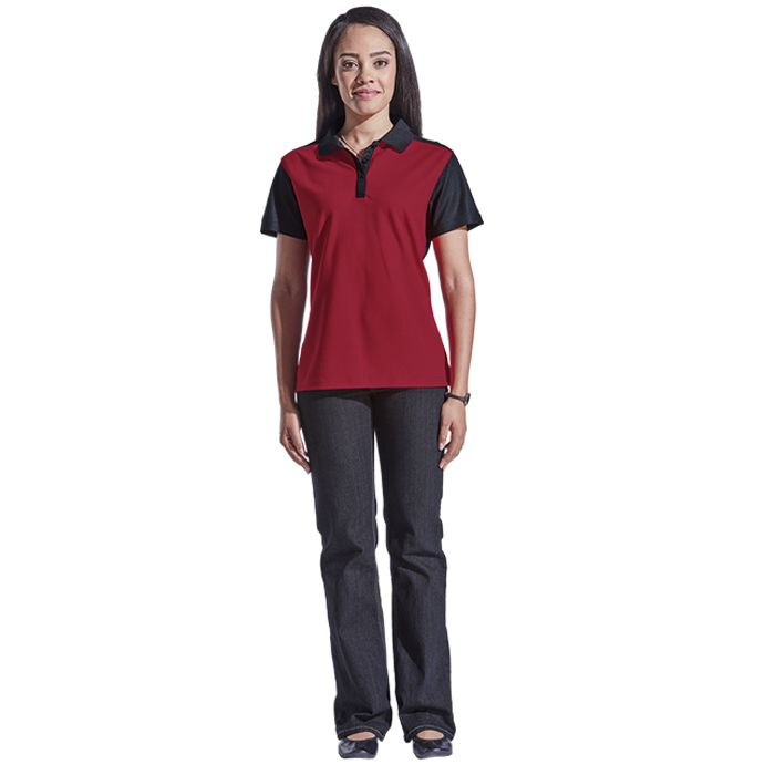 Ladies Eagle Golfer - Avail in: Black/Charcoal, Navy/Charcoal, R
