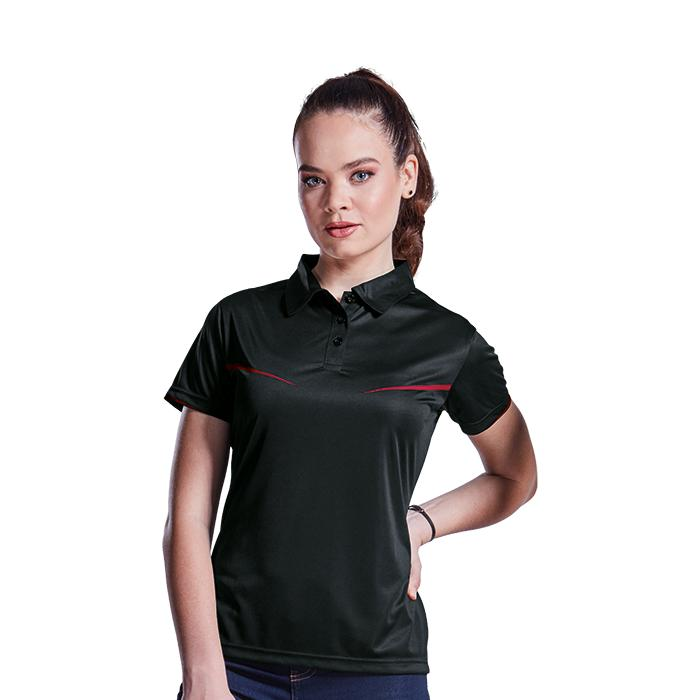 Ladies Vega Golfer. Black/Red, Charcoal/Lime or Navy/White