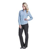 Ladies Basic Poly Cotton Blouse Long Sleeve