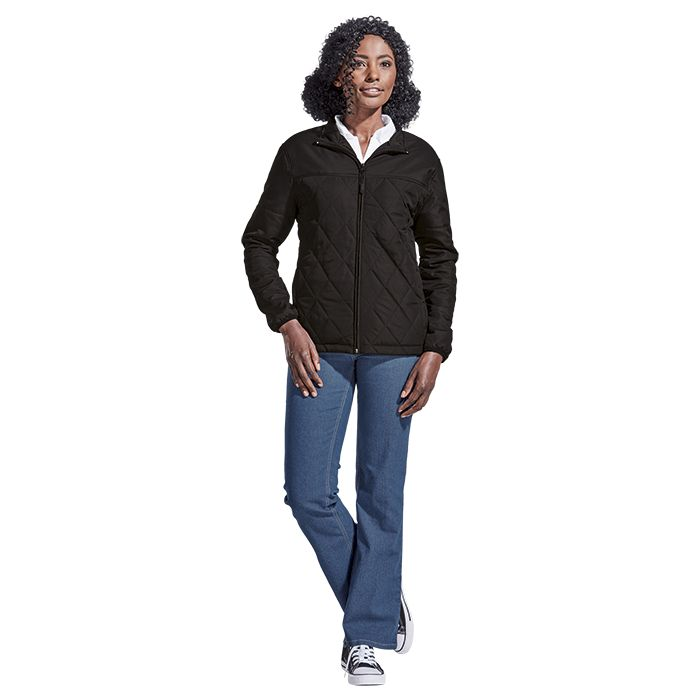 Ladies Rochfort Jacket - Avail in: Black or Navy