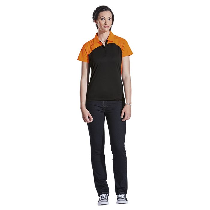 Ladies Torpedo Golfer - Avail in: Black/Lime, Black/Vivid Orange