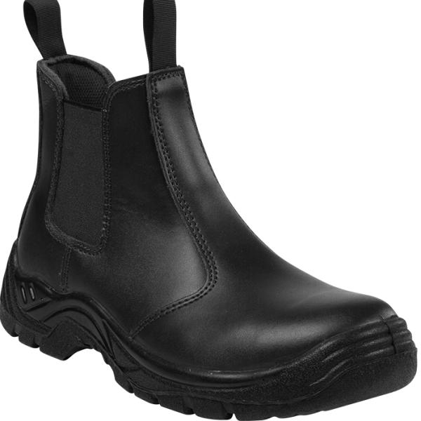 Barron Chelsea Safety Boot - Available in: Black or Brown