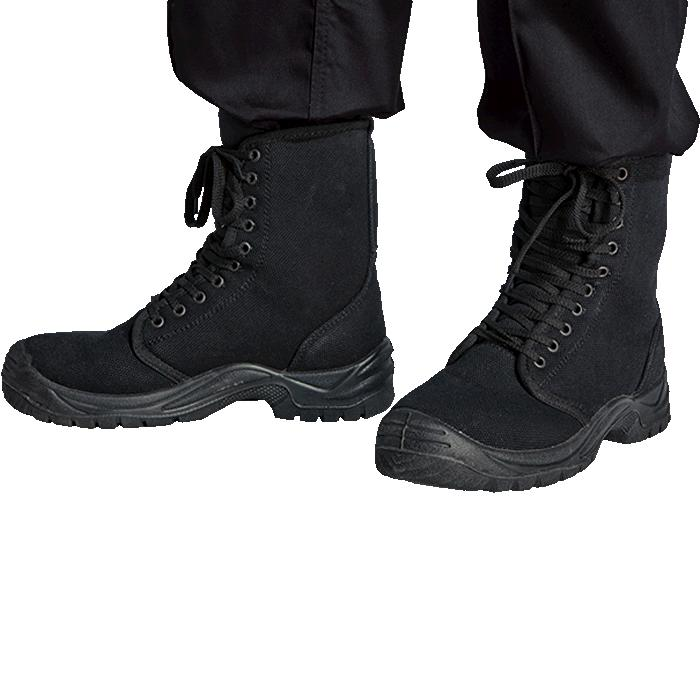 Barron Protector Boot - Available in: Black
