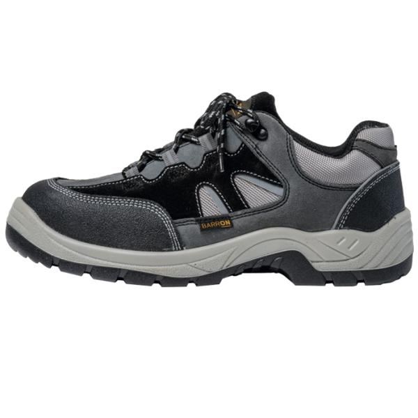 Barron Crusader Safety Shoe - Available in: Black/Grey