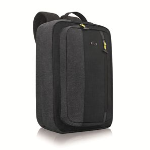 Solo Velocity Hybrid Backpack Table & Laptop - Avail in: Black/G