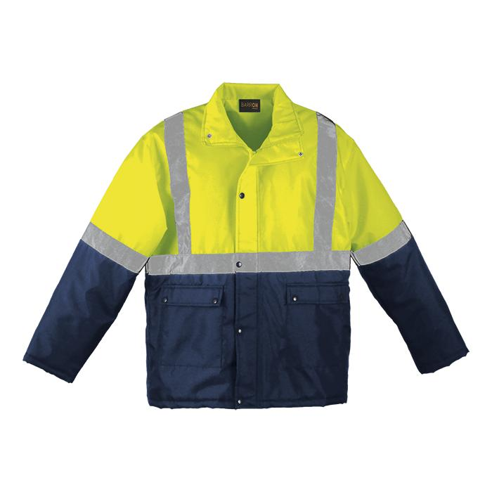Venture Padded Jacket - Available in: Safety Orange/Navy or Safe