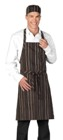 Deli Apron Brown / Cream