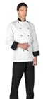 Paris Executive Chef Coat White / Black