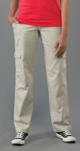 Ladies Cargo Pants Bottoms - Availe in:Stone or Tan