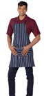 Butcher'S Apron Blue Butcher Stripe