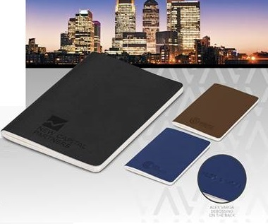 Alex Varga A-Type Notebook - Avail in: Black, Brown or Navy