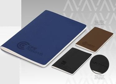 Alex Varga B-Type Notebook - Avail in: Black, Brown or Navy
