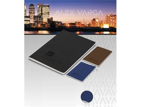 Alex Varga C-Type Notebook - Avail in: Black, Brown or Navy