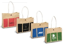 Tres-Chic Shopper - Available in Red, Black, Blue or Green