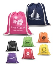 Hawaii Drawstring Bag - Available in Many colours