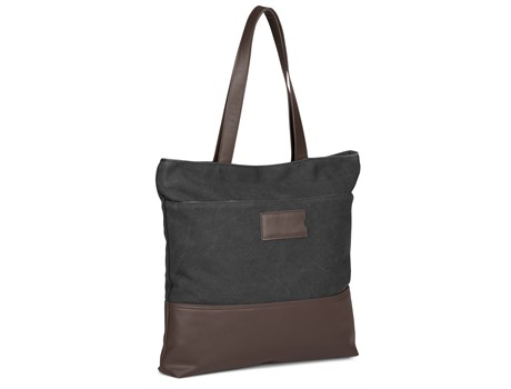 Hamilton Canvas Tote - Charcoal
