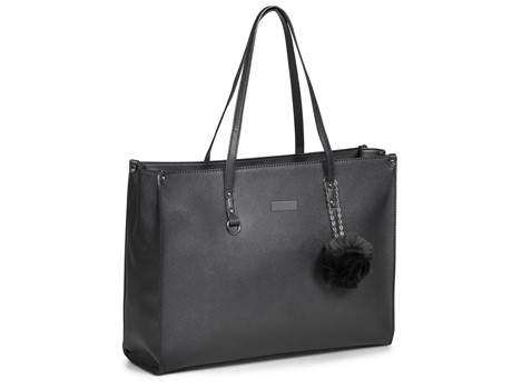 Foxi Ladies Laptop Bag - Black
