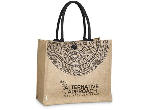 Okiyo Eco Friendly Kashira Jute Tote