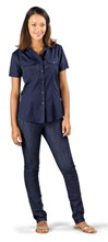 Us Basic Bayport Short Sleeve Shirt - Ladies