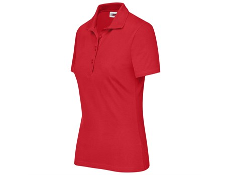 Us Basic - Cardinal Single Jersey Golf Shirt - Ladies