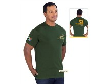 Unisex Springbok T-Shirt (Version 1) - Available in Green or Whi