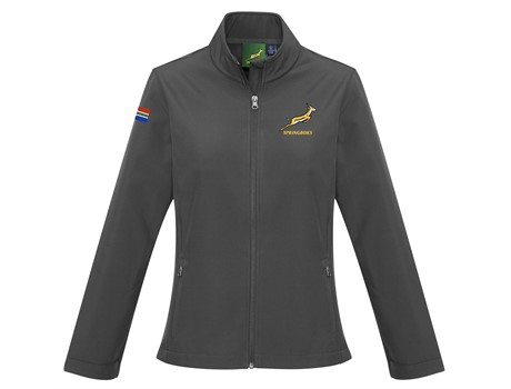Springbok Ladies Softshell Jacket - Available in: Black, Navy, G