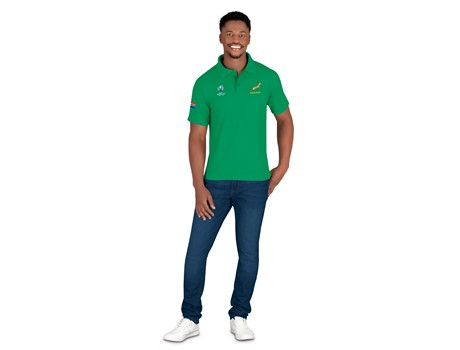 World Cup Mens Golf shirt - Available in: Black, Navy, Green, Da