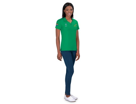 World Cup Ladies Golf shirt - Available in: Black, Navy, Green,