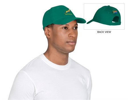 Springbok Heavy Brushed Coptton Cap - Available in: Green, Black