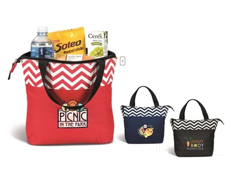 Ripple Lunch Cooler - Black, Navy or Red
