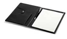 Baltimore A5 Folder - Available in Black or Brown