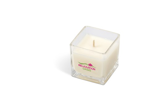 Shimmer Candle - White
