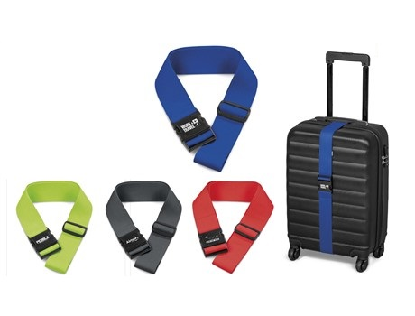 Pearson Luggage Strap - Avail in: Blue Charcoal, Lime or Red